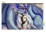 Robot Dragon Lady Carry-all Pouch