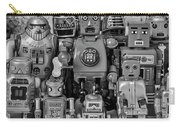 Robot Family Carry-all Pouch