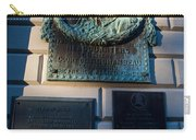 Rochambeau Plaques Vernon House Newport Rhode Island Carry-all Pouch