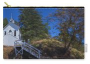 Roche Harbor Chapel In San Juan Island Carry-all Pouch