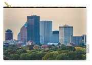 Rochester Ny Skyline At Dusk Carry-all Pouch