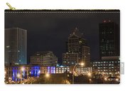 Rochester Skyline From Freddie-sue Bridge Carry-all Pouch