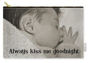 Rock A Bye Baby Quote  Carry-all Pouch