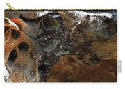 Rock Abstract With A Web Carry-all Pouch