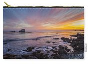 Rock And Piedras Blancas Lighthouse Carry-all Pouch