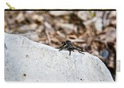 Rock And Robber Fly Carry-all Pouch