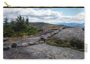 Rock Boundaries On Casecade Mountain Keene Ny New York Carry-all Pouch
