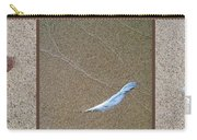 Rock Feather Glass Carry-all Pouch