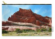 Rock Formation Of La Sal Mountains Carry-all Pouch