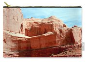Rock Formation Of Red Sandstone Arches National Park Carry-all Pouch