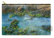 Rock Formations In The Sea, Bird Rock Carry-all Pouch