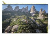 Rock Formations Montserrat Spain Carry-all Pouch