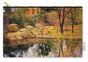 Rock House At Granite Dells Carry-all Pouch by Priscilla Burgers