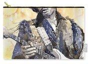 Rock Jimi Hendrix 02 Carry-all Pouch by Yuriy Shevchuk