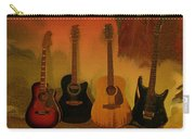 Rock N Roll Guitars Carry-all Pouch