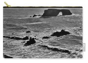 Rock Point Bridge In Bodega Bay Carry-all Pouch