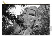 Rock Spirits At Yosemite B And W Carry-all Pouch