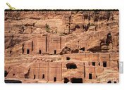 Rock Village In Petra Carry-all Pouch