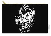 Rockabilly Wolf Head Carry-all Pouch
