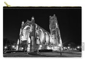 Rockefeller Chapel - B And W Carry-all Pouch