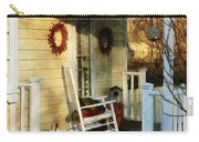 Rocking Chair On Side Porch Carry-all Pouch