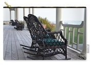Rocking Chairs On The Porch Carry-all Pouch
