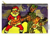 Rocking Roll Christmas Card Carry-all Pouch