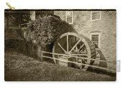 Rockland Grist Mill - Sepia Carry-all Pouch