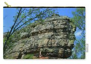 Rocks Along The Roadway Carry-all Pouch
