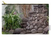 Rocks And Grass Carry-all Pouch