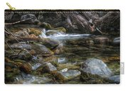 Rocks And Little Water Carry-all Pouch