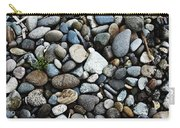 Rocks And Sticks On The Beach Carry-all Pouch