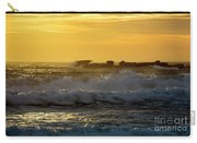 Rocks At Palm Beach At Sunrise Carry-all Pouch