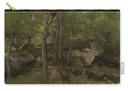 Rocks In The Forest Of Fontainebleau Carry-all Pouch