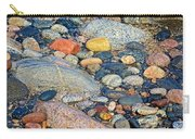 Rocks Of Many Colors On Lake Superior Shoreline In Pictured Rocks National  Carry-all Pouch