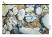 Rocks On Beach Carry-all Pouch