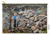 Rocks On The Brandywine Carry-all Pouch