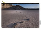 Rocks On The Racetrack Death Valley Carry-all Pouch
