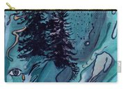 Rocksntrees Abstract Carry-all Pouch