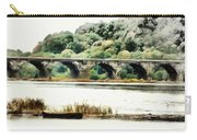 Rockville Bridge On The Susquehanna River Carry-all Pouch