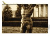 Rocky - Heart Of A Champion  Carry-all Pouch by Bill Cannon