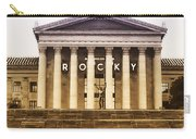Rocky Balboa On The Art Museum Steps Carry-all Pouch
