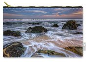 Rocky Beach At Sandy Hook Carry-all Pouch