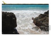 Rocky Beach In The Caribbean Carry-all Pouch