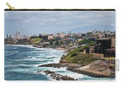 Rocky Coast Of Puerto Rico Carry-all Pouch
