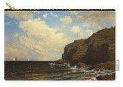 Rocky Coast With Breaking Wave Carry-all Pouch