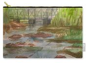 Rocky Creek In The Catskills  Carry-all Pouch