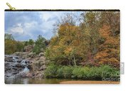 Rocky Falls In The Fall Carry-all Pouch