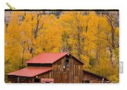 Rocky Mountain Barn Autumn View Carry-all Pouch