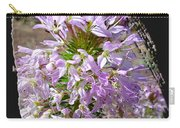 Rocky Mountain Bee Flower Carry-all Pouch